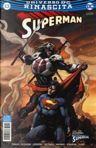 Superman #13 by Dan Jurgens, Patrick Gleason, Peter J.Tomasi, Steve Orlando