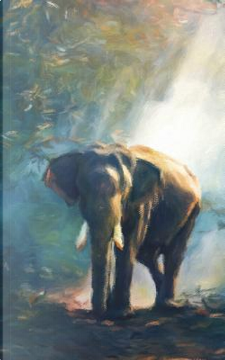 Elephant Among the Trees - Lined Notebook with Margins 5x8 by Legacy