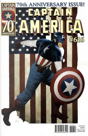 Captain America Vol.1 #616 by Alec Siegel, Cullen Bunn, Ed Brubaker, Frank Tieri, Howard Chaykin, Kyle Higgins, Mike Benson