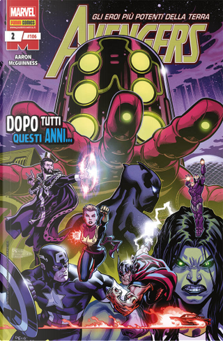Avengers n. 106 by Ed McGuinness, Jason Aaron