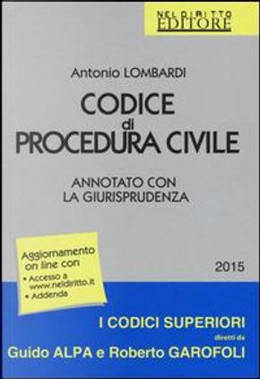 Codice di procedura civile. Annotato con la giurisprudenza. Con aggiornamento online by Antonio Lombardi