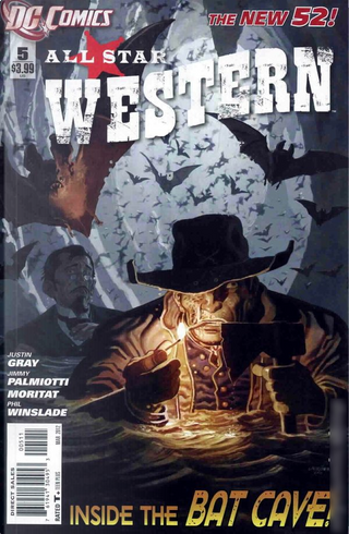 All Star Western Vol.3 #5 by Jimmy Palmiotti, Justin Gray