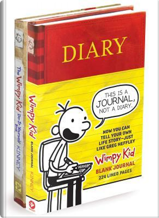 Diary of a Wimpy Kid Blank Journal/Diary of a Wimpy Kid Do-it-yourself Book Bundle by Jeff Kinney