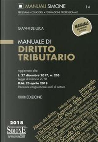 Manuale di diritto tributario by Gianni De Luca