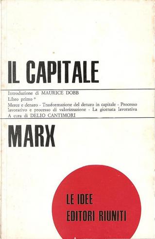 Il capitale: critica dell'economia politica by Karl Marx