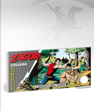 Zagor Collana Darkwood 3 (di 6) by Moreno Burattini
