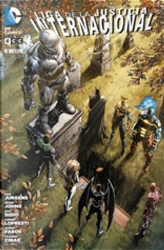Liga de la Justicia Internacional #3 by Dan Didio, Dan Jurgens, Geoff Jones, Joe Harris