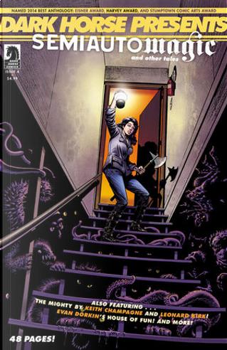 Dark Horse Presents Vol.3 #4 by Alex de Campi, Brendan McCarthy, Evan Dorkin, Jimmy Palmiotti, Justin Gray, Keith Champagne, Tyler Jenkins