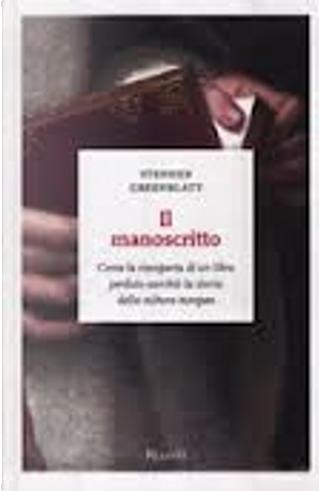 Il manoscritto by Stephen Greenblatt