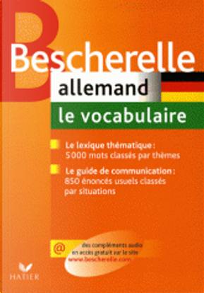 Allemand - Le vocabulaire by Karin Albert, Jean Janitza, Anne Larrory-Wunder, Gunhild Samson