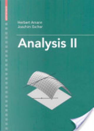 Analysis II by Herbert Amann, Joachim Escher