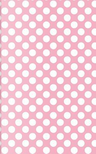 Polka Dots - Pale Pink 101 - Lined Notebook With Margins 5x8 by Legacy