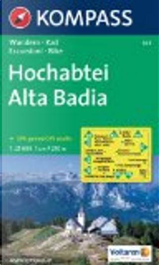624: Hochabtei / Alta Badia 1:25, 000 by Kompass-Karten GmbH