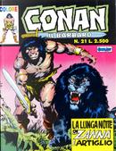 Conan il barbaro colore n. 21 by Roy Thomas