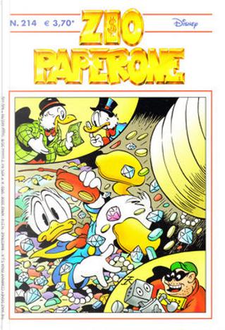 Zio Paperone n. 214 by Bobert Bat, Carl Barks, Dick Kinney, Don Rosa, Frank Jonker, Romano Scarpa, Ted Orborne