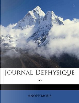 Journal Dephysique by ANONYMOUS