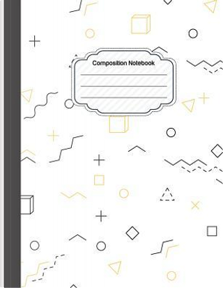 Composition Notebook - Minimalist Shapes by M.J. Journal