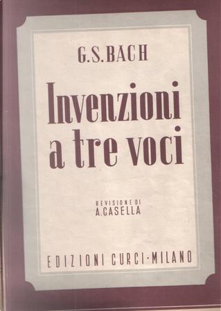 Invenzioni a tre voci by Johann Sebastian Bach