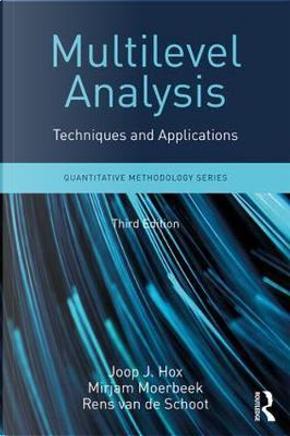 Multilevel Analysis by Joop J. Hox