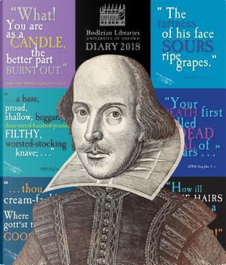 Bodleian Library Shakespeare's Insults 2018 Diary by Flame Tree Studios