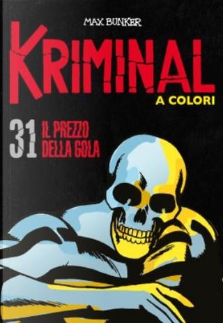 Kriminal a colori - Vol. 31 by Max Bunker