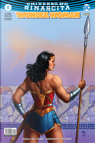 Wonder Woman #6 by Amy Chu, Greg Rucka