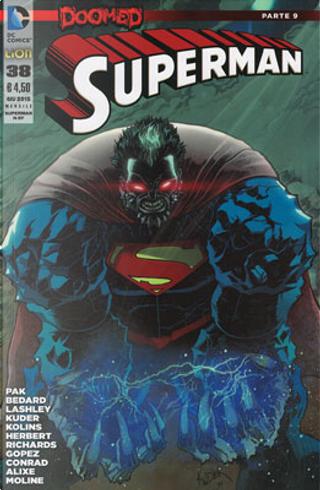 Superman #38 by Greg Pak, Tony Bedard