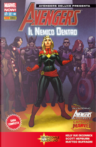 Avengers Deluxe Presenta n. 1 by Christopher Sebela, Kelly Sue DeConnick