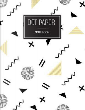 Dot paper notebook by Pink Angel Creative