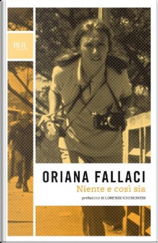 Niente e così sia by Oriana Fallaci