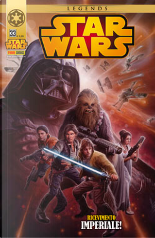 Star Wars vol. 33 by Russ Manning, Brian Wood, Alexander Freed