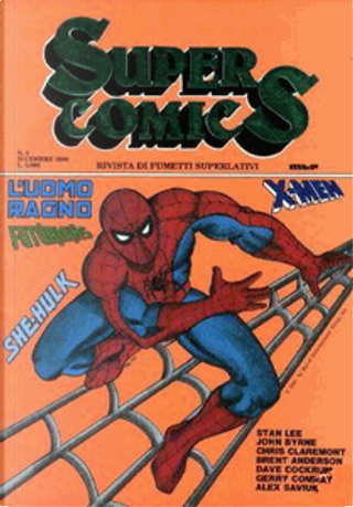 Super Comics n. 3 by Chris Claremont, Dave Cockrum, Gerry Conway, John Byrne