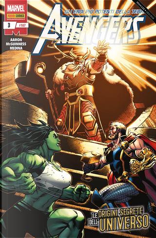 Avengers n. 107 by Ed McGuinness, Jason Aaron, Paco Medina