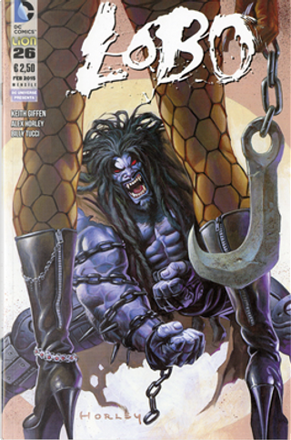 Lobo n. 26 by Billy Tucci, Alan Grant, Keith Giffen