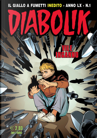 Diabolik anno LX n. 1 by Alessandro Mainardi, Enrico Lotti