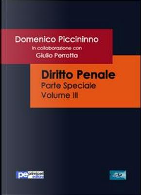 Diritto penale. Parte speciale by Domenico Piccininno