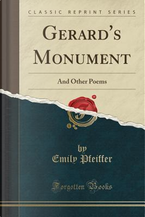Gerard's Monument by Emily Pfeiffer