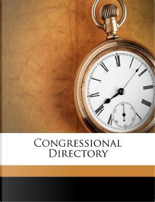 Congressional Directory by Professor United States Congress