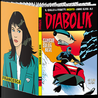 Diabolik anno XLVIII n. 1 by Angelo Maria Ricci, Marco Ricci, Michelangelo La Neve, Tito Faraci