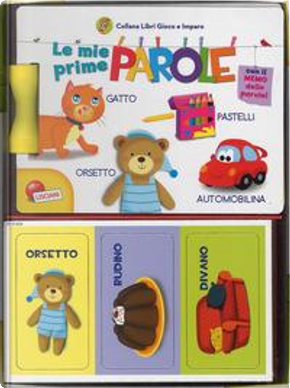 Le mie prime parole. Carotina. Libri gioco e imparo. Ediz. a colori. Con gadget by Francesca Costa