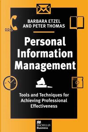 Personal Information Management by Barbara Etzel