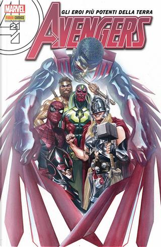 Avengers n. 96 by Mike Del Mundo