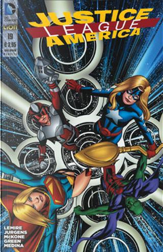 Justice League America n. 19 by Dan Jurgens, Jeff Lemire