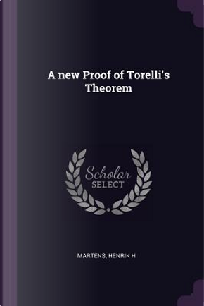 A New Proof of Torelli's Theorem by Henrik H. Martens