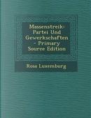 Massenstreik by Rosa Luxemburg