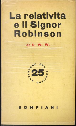 La relatività e il signor Robinson by C.W.W.