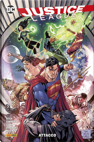 Justice league vol. 2 by Brian Hitch