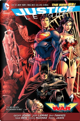 Justice League: Trinity War by Geoff Johns, Jeff Lemire, Ray Fawkes