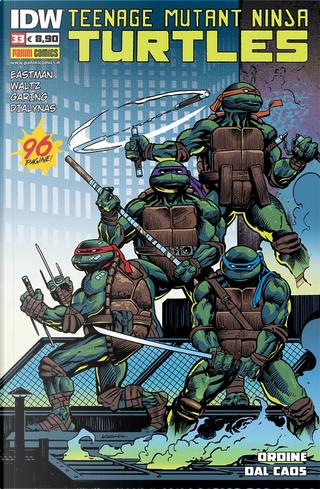 Teenage Mutant Ninja Turtles n. 33 by Bobby Curnow, Kevin Eastman, Mariko Tamaki, Tom Waltz