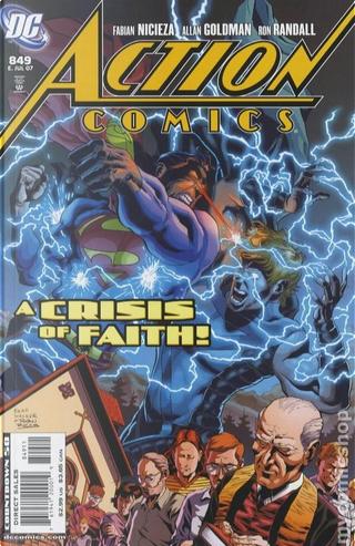Action Comics Vol.1 #849 by Fabian Nicieza